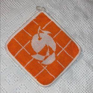 Vintage Orange Hot Pad